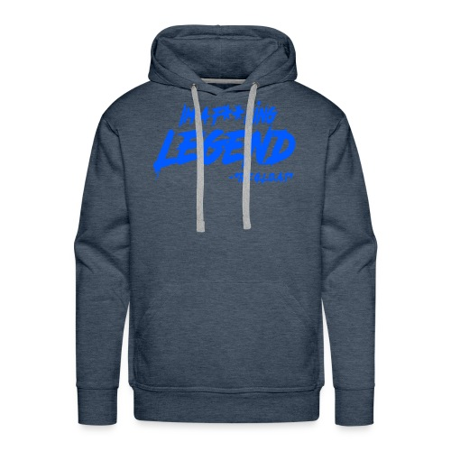 MATH HOFFA- I'M A LEGEND (BLUE) - Men's Premium Hoodie