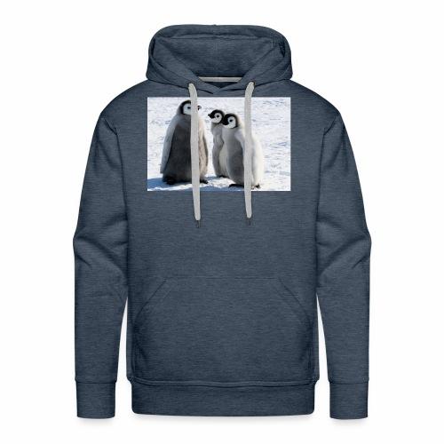 the penguin - Men's Premium Hoodie