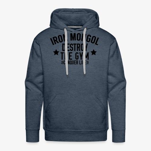 Vintage Iron Mongol Logo - Men's Premium Hoodie
