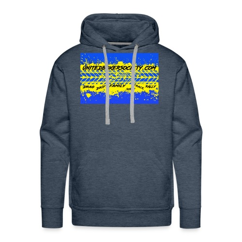 BUMPERSTICKER SPLATTER - Men's Premium Hoodie
