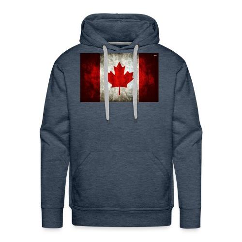 canada flag grunge - Men's Premium Hoodie