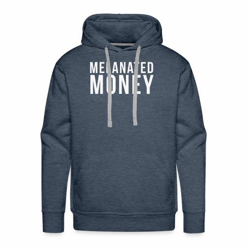 Melanated Money - Men's Premium Hoodie