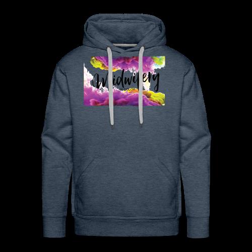 MIC Color Cloud Transparent - Men's Premium Hoodie