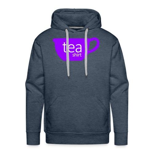 Tea Shirt Simple But Purple - Men's Premium Hoodie