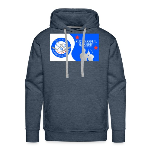 Official Successful Barber - Men's Premium Hoodie