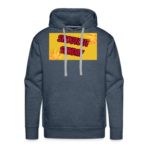 SHOUTOUT Sunday Merch - Men's Premium Hoodie