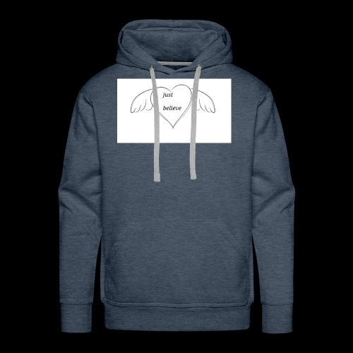 An inspiration from a doodle - Men's Premium Hoodie