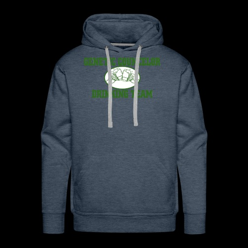 genetic counselor drinking team - Men's Premium Hoodie