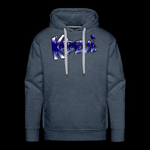 Katazui Header Logo - Men's Premium Hoodie