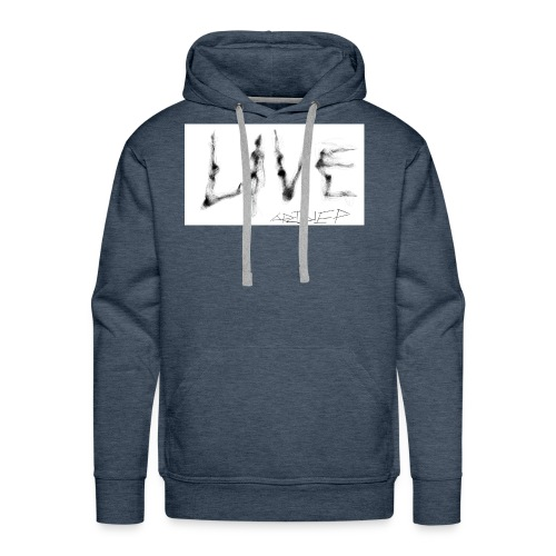 LIVE t-shirt - Men's Premium Hoodie