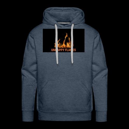 unhappy flames - Men's Premium Hoodie