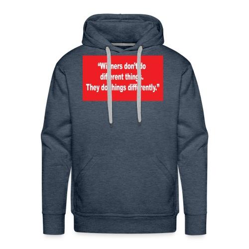 quote - Men's Premium Hoodie