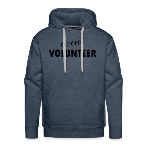 event volunteer - Men's Premium Hoodie