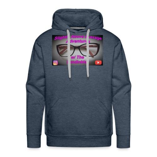 Glasses - Men's Premium Hoodie