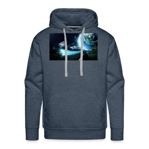 Earth Space Shirt - Men's Premium Hoodie