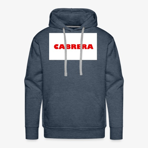 Cabrera shirt - Men's Premium Hoodie