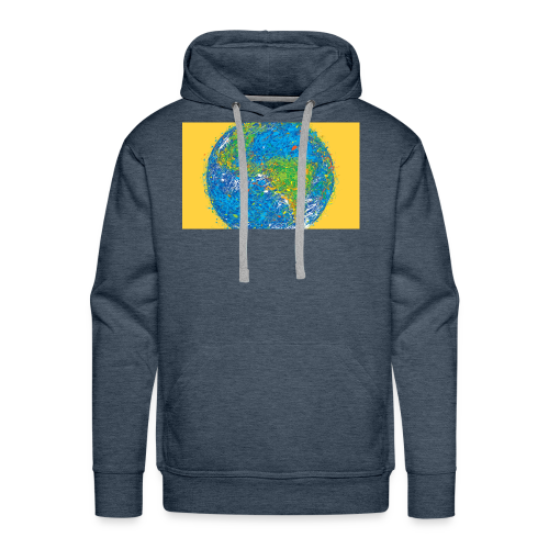 world - Men's Premium Hoodie