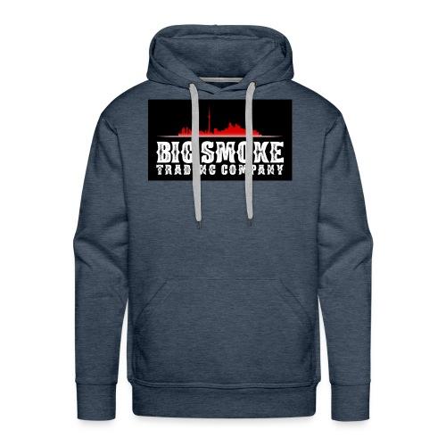 Big Smoke Trading Company Logo - Men's Premium Hoodie