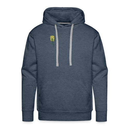 venus fly trap as a hair clip - Men's Premium Hoodie