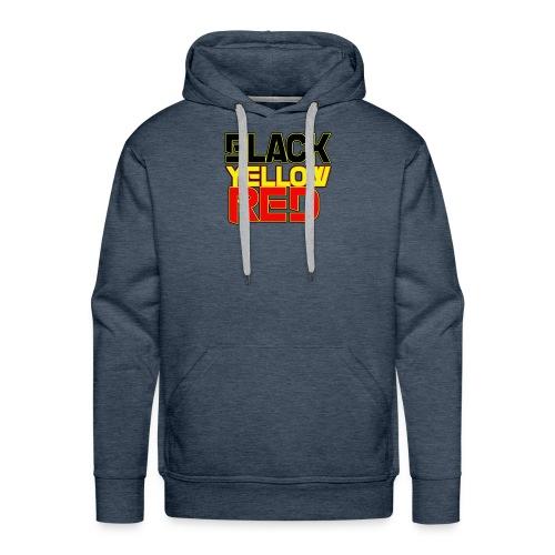 black yellow red - Men's Premium Hoodie