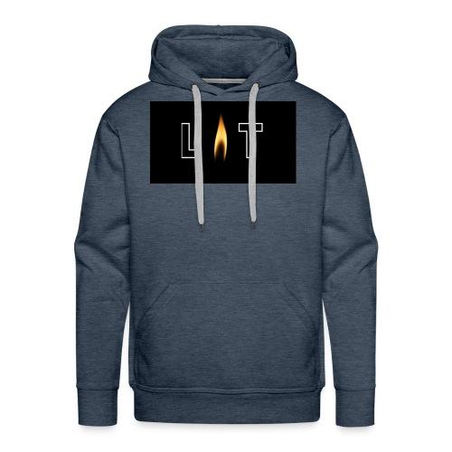 LIT LOGO DESIGN - Men's Premium Hoodie