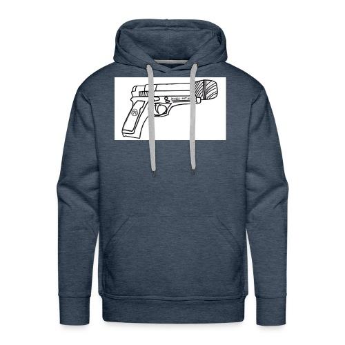 Hot Mic Handgun - Men's Premium Hoodie