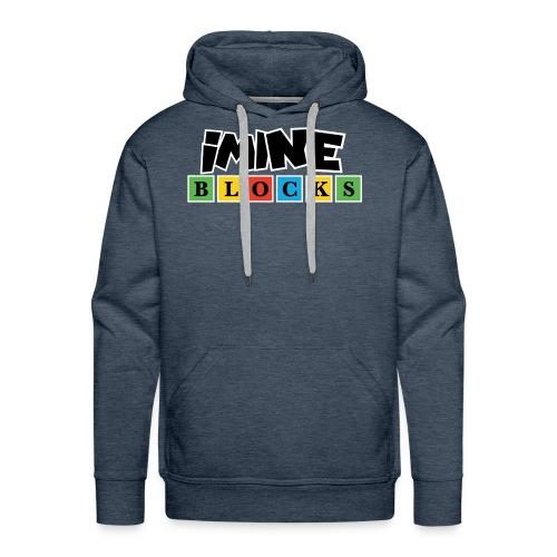 iMine Blocks 2 - Men's Premium Hoodie