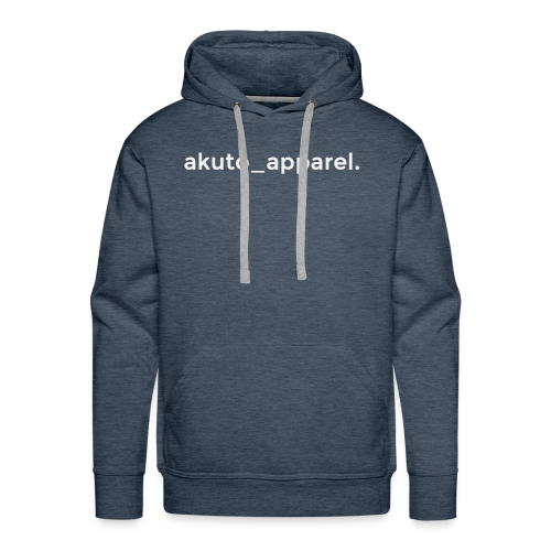 simple_text. - Men's Premium Hoodie
