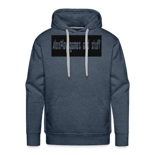 AlexPlaysgames and stuff design - Men's Premium Hoodie