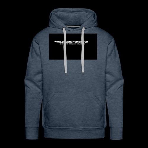 Shawn Gaudier T Shirt Logo - Men's Premium Hoodie