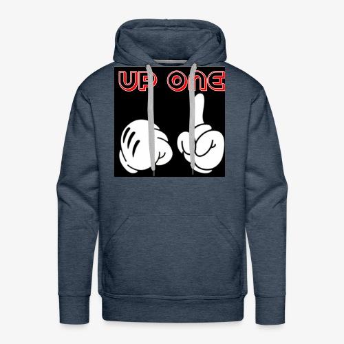 up one - Men's Premium Hoodie