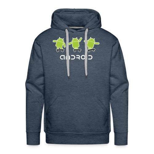 android logo T shirt - Men's Premium Hoodie