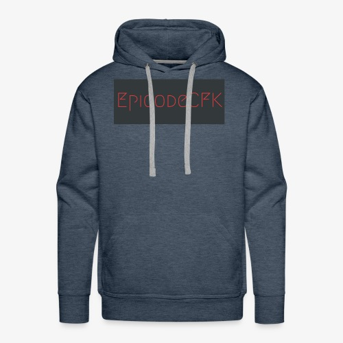 EpicodeCFK (Red & Gray) Logo - Men's Premium Hoodie