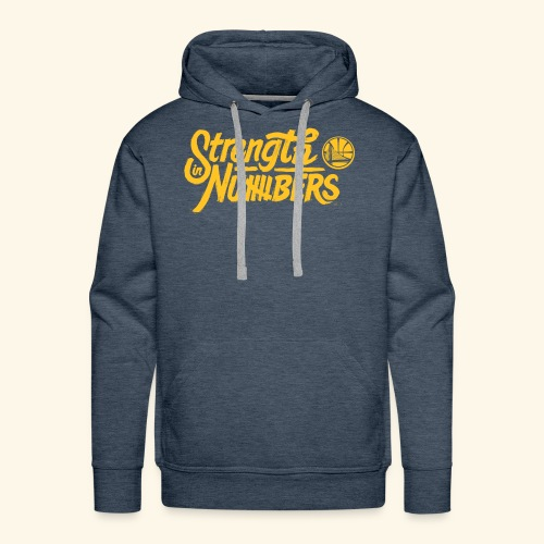 strength in numbers golden states - Men's Premium Hoodie