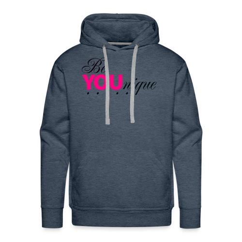 Be Unique Be You Just Be You - Men's Premium Hoodie