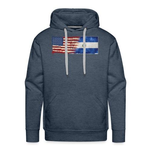 soy un americano salvadoreno - Men's Premium Hoodie