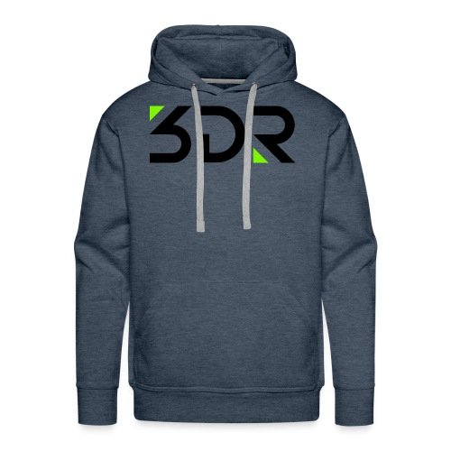 3dr logo - Men's Premium Hoodie