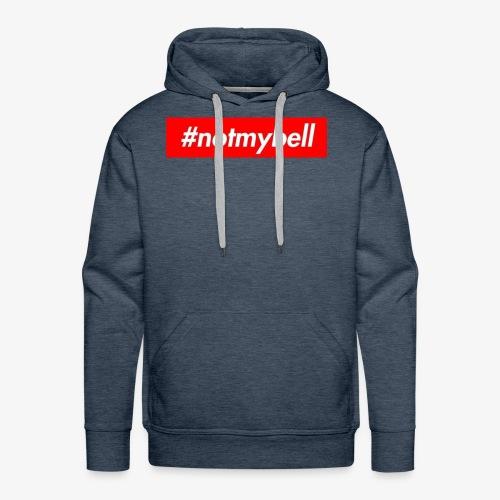Not My Bell inspiration box logog - Men's Premium Hoodie