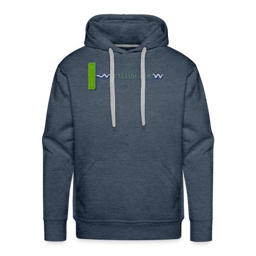 corkvibe Horizontal Logo - Men's Premium Hoodie