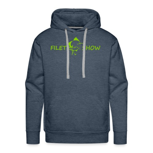 Green_logo_for_shirts - Men's Premium Hoodie