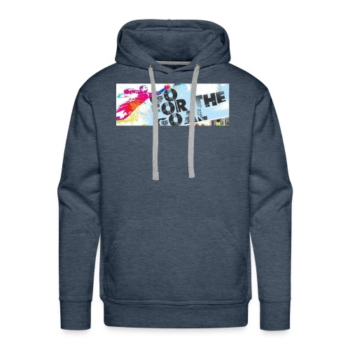 GoForTheGoal Official Products - Men's Premium Hoodie