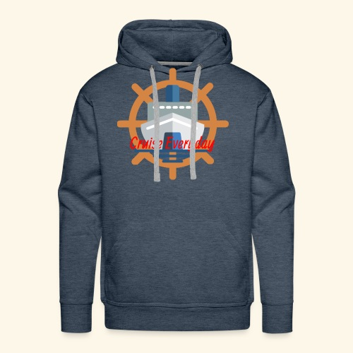 Cruise Everyday Logo - Men's Premium Hoodie