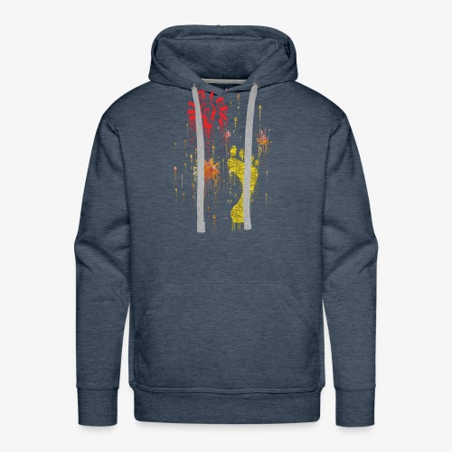 Abstract, Gift For Her And Him - Men's Premium Hoodie