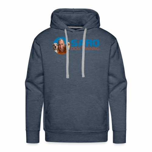 Saro Dog TrainingLogo - Men's Premium Hoodie