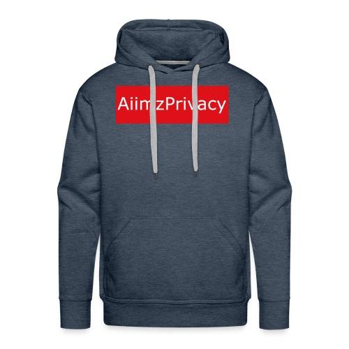 AiimzPrivacy's mouse pad - Men's Premium Hoodie