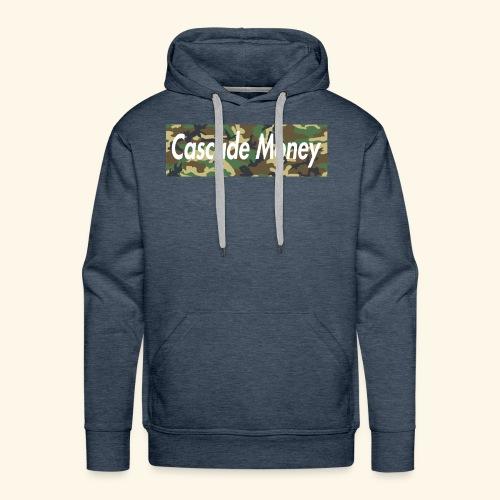Cascade money camo - Men's Premium Hoodie