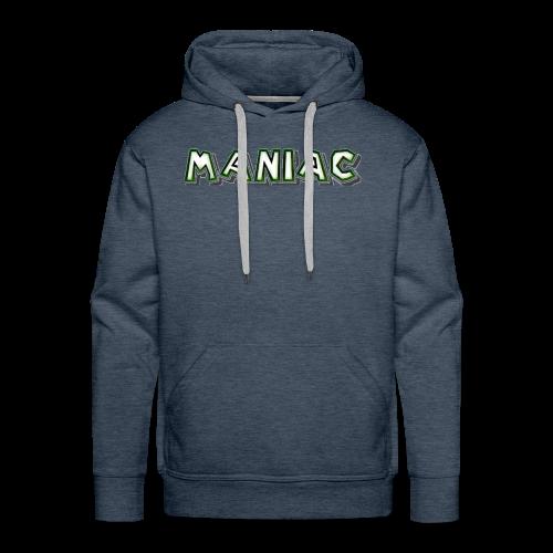 Maniac: Green Glow Edition - Men's Premium Hoodie