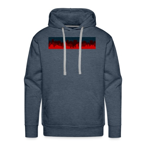 Paint the Town RED - Men's Premium Hoodie