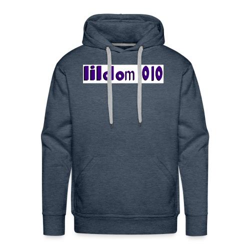 lildom 1010 purple and bLACK - Men's Premium Hoodie