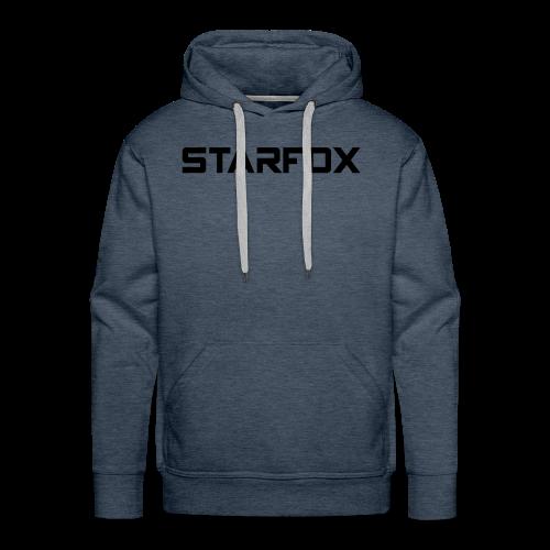 STARFOX Text - Men's Premium Hoodie